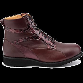 Martha - L1605/X1504 fantasy leather bordeaux combi