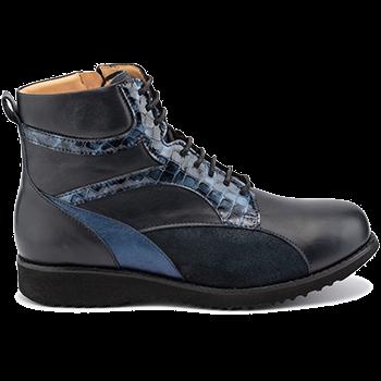 Martha - L1803/X1803 fantasy leather navy combi