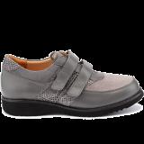 L1617/X881 fantasy leather grey combi