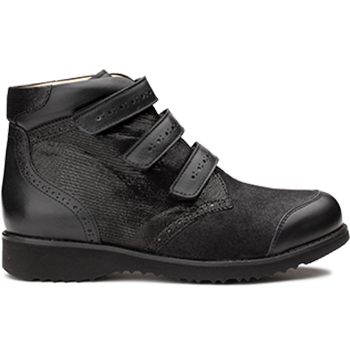 Lilly - L1602/X860 fantasy leather black combi