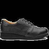 X852/L1602 fantasy leather black combi