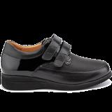L1602/X852/S602 patent leather black combi