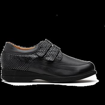 Inspiration - L1602/X852/S1662 fantasy leather black combi