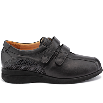 Polish - E20278/X852 fantasy leather black combi