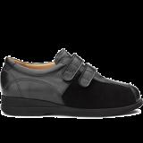 L1602/X872 leather black combi
