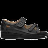 L1602/S1662 fantasy leather black combi