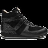 L1672/X872 fantasy leather black combi