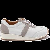 L1601/X1851 leather white/grey combi