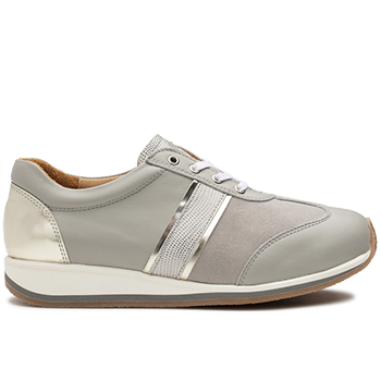 Dionisia - L1630/X1832 fantasy leather light grey combi