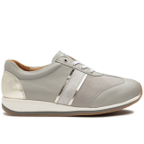 L1630/X1832 fantasy leather light grey combi