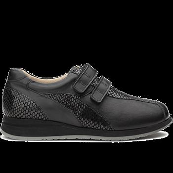 Elisabeth - L1602/X852 fantasy leather black combi