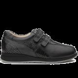 L1602/X852 fantasy leather black combi