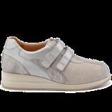 E20411/X1832 fantasy leather grey combi