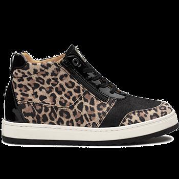 Jacqueline - Y1874/X860 leopard leather black combi