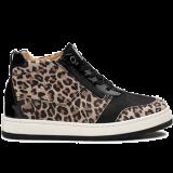 Y1874/X860 leopard leather black combi