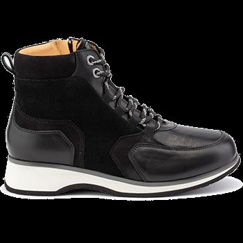 Jena - L1602/X852 leather black combi