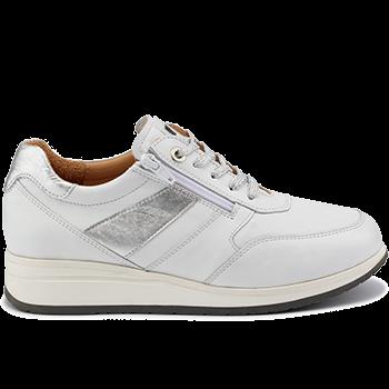 Tokio - L1601/X1851 leather white combi