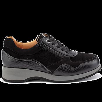 Lima - M1452/N302 grain leather black combi
