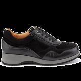 M1452/N302 grain leather black combi