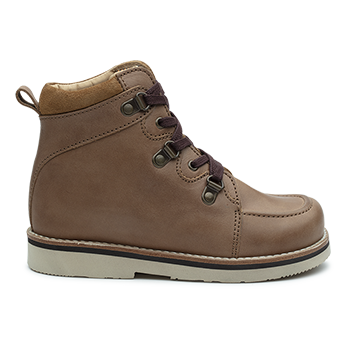 Lee - R1955/P407 Waxed Leather Brown Combi