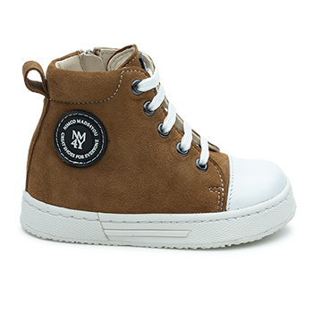 Charlie - L1601/P407 Suede Brown Combi