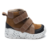 NM1902/P407 Waxed Leather Brown Combi