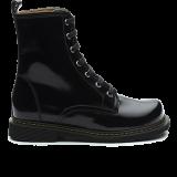 F1602 Polish Leather Black