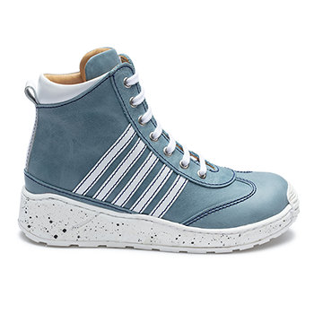 Shinny - R576/L1601 Waxed Leather Blue Combi