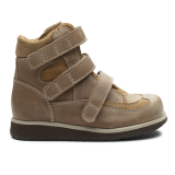 R555/P1668 Waxed Leather Brown Combi