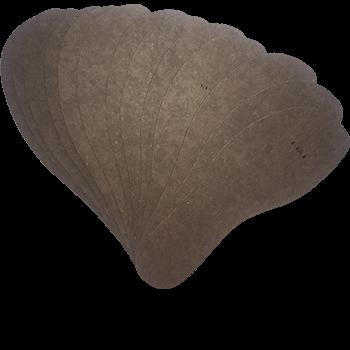 NIMCO DAMEN-BRANDSOHLENSCHABLONE N180K